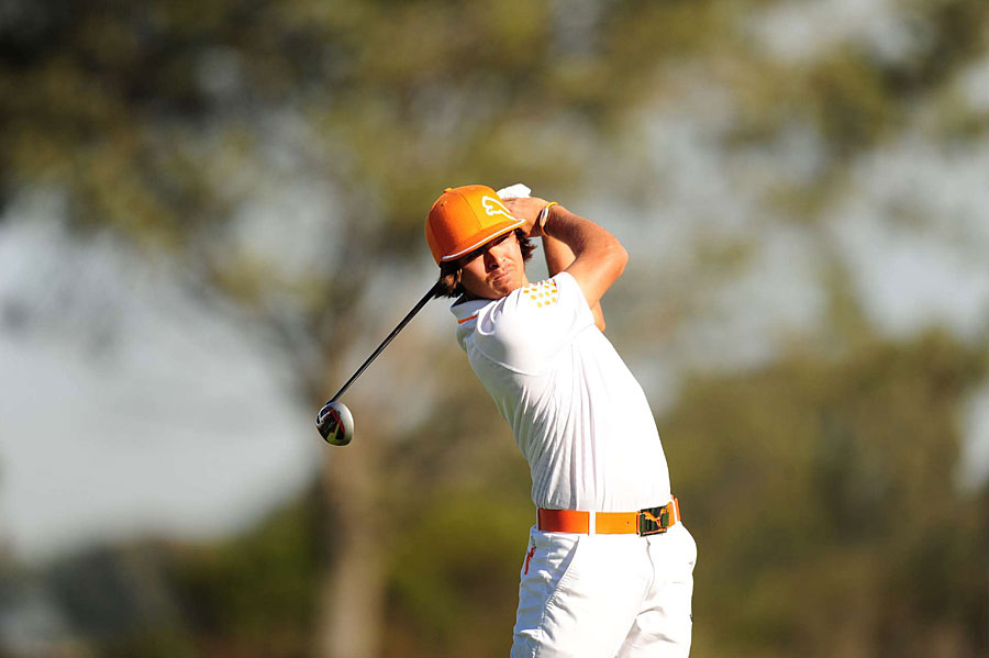 Rickie Fowler shot a two-under 70 to finish at six under par.