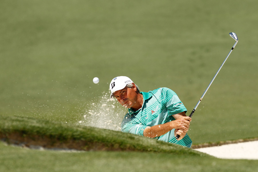 Twenty years after he won the Masters, Fred Couples tied for 12th.