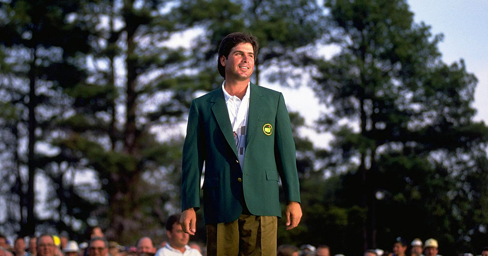 Fred Couples won his only major title at the 1992 Masters.