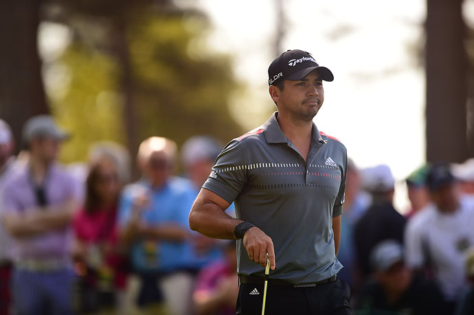 Jason Day at the Masters on Friday. A pre-tournament favorite, Day was 4-over after two rounds.