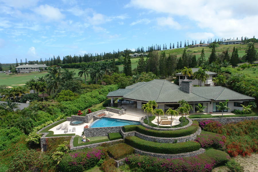 Jim Furyk's home at Kapalua is on the market for $6.9 million. (Photos courtesy of toptenrealestatedeals.com)