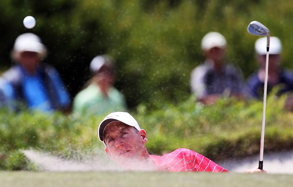 Jim Furyk: A+                       Record: 5–0                       Suddenly making putts, his 21 birdies led all players; was singlehandedly The Difference.