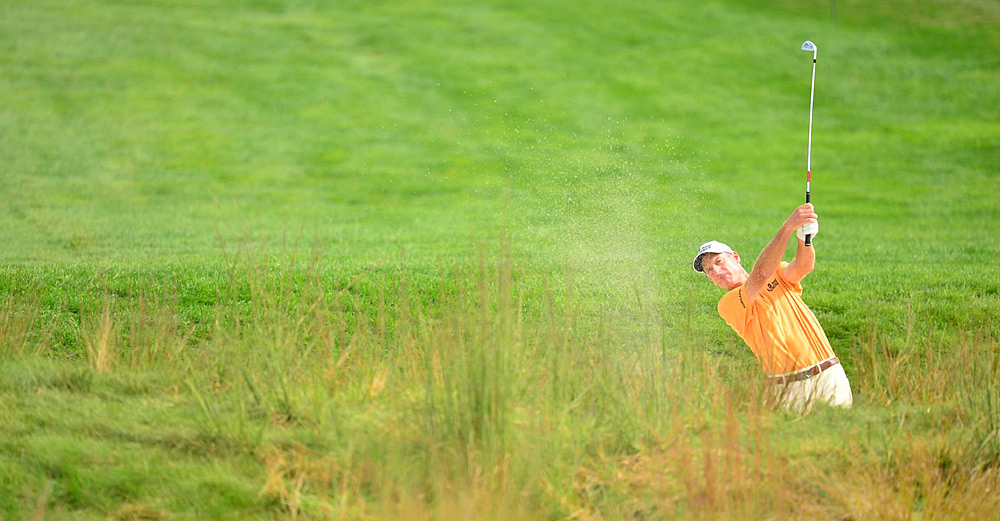 Jim Furyk missed the cut after a two-over 73.