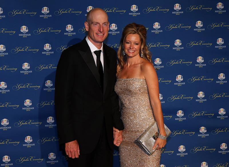 Jim Furyk and his wife, Tabitha.