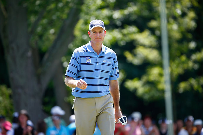 """When you play it from tee to green, it looks like a course that was built in 1910, and when you get to the greens it looks like a course that was built in about 1995.""                           --Jim Furyk on the Rees Jones' changes at Royal Montreal, host of this year's Canadian Open."