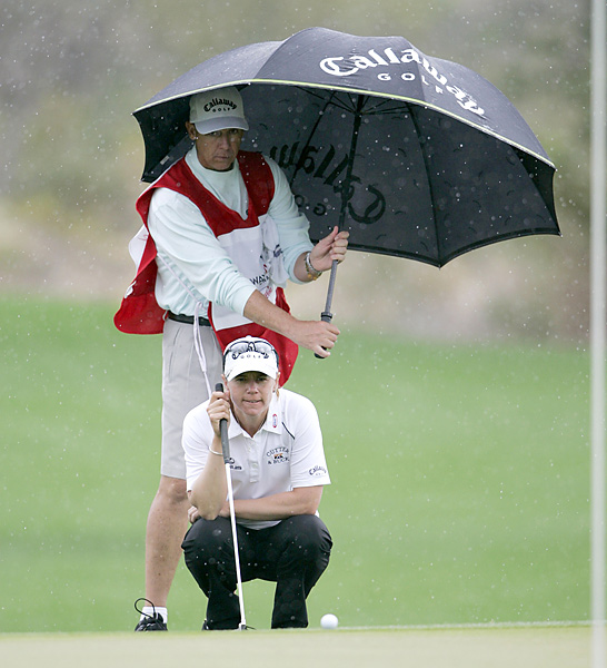 Annika Sorenstam and Terry McNamara                           Terry McNamara is the most successful caddie ever on the LPGA tour for two reasons: he was a superb caddie, and he worked for many years for Annika Sorenstam.