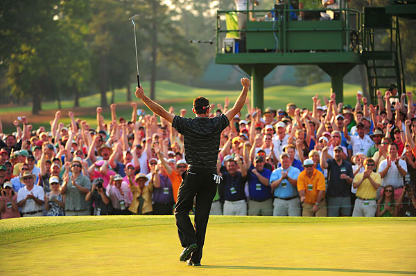 Schwartzel became the second South African to win a major in less than a year, after Louis Oosthuizen won the 2010 British Open.