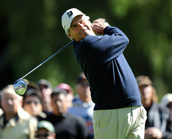 Fred Couples began the day one shot back and was looking to become the oldest PGA Tour winner in more than 35 years. He shot a 73 to tie for seventh.