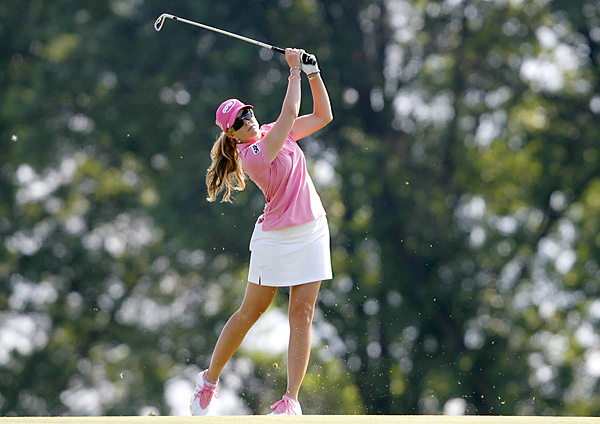 Creamer, known as the Pink Panther for all-pink attire, closed with a 2-under 69, far better than the 75 she averaged during previous Women's Open final rounds.