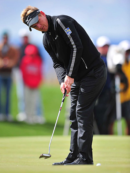 Donald had a great week on the greens, and never trailed in any of his six matches.