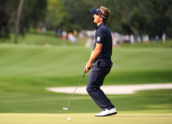 Luke Donald shot a 71 to finish tied for fourth.