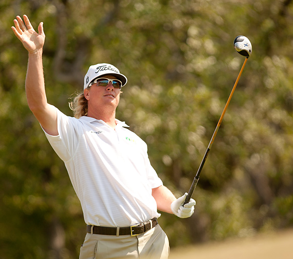 Charley Hoffman pulled into a tie for second after a 68.
