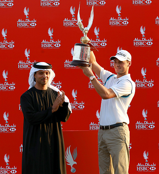 With the win, Kaymer passed Tiger Woods for No. 2 in the World Ranking.