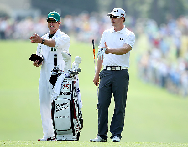 Hunter Mahan and Johnny Wood                           Hunter Mahan has won with Johnny Wood, one of the best-read caddies on Tour, in a relationship that looks like it could go on forever.