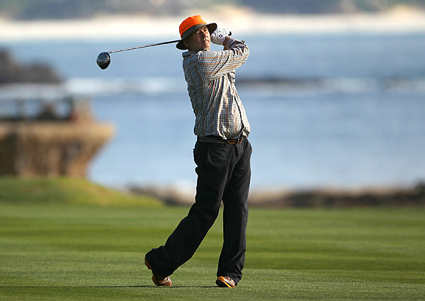 Bill Murray teamed with D.A. Points to win the pro-am competition for the first time in his career.