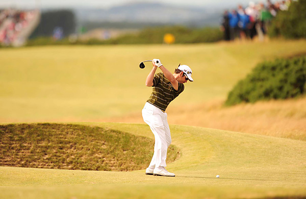 Oosthuizen began the week as a relative unknown, but he made a name for himself at St. Andrews.