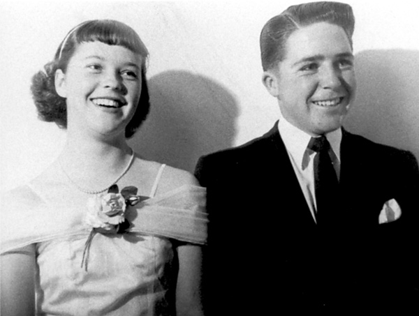 Player was 14 years old when he went on his first date (pictured) with his future wife, Vivienne Verwey, who was working part-time behind the counter at a pro shop.