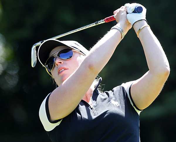 Pressel entered the final round with a two-shot lead over Shin and Jeong Jang.