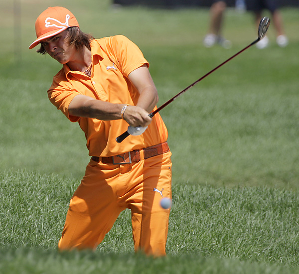 Rickie Fowler shot a 66 to tie for second place.