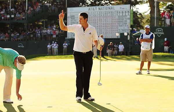 Rose hit every green in regulation on the back nine, including the final one, and closed with seven straight pars to win for the second time in three starts on the PGA Tour.