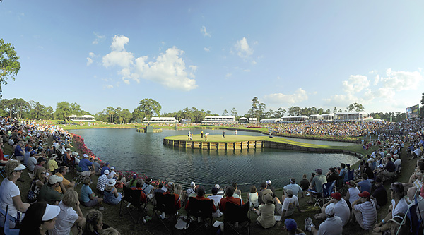 TPC at Sawgrass; Ponte Vedra Beach, Fla.; No. 17, 137 yards                           Arguably the most famous island green in golf, this hole will surely be the site of more dramatic moments at this year's Players Championship.
