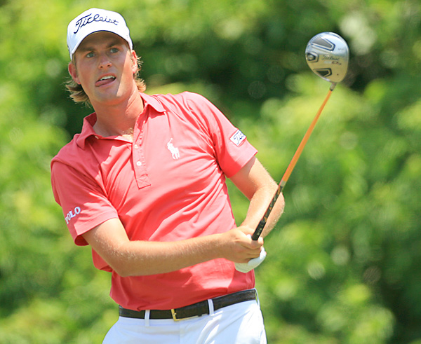 Webb Simpson began the final round tied for the lead with Watson, and matched him with a 69 on Sunday.