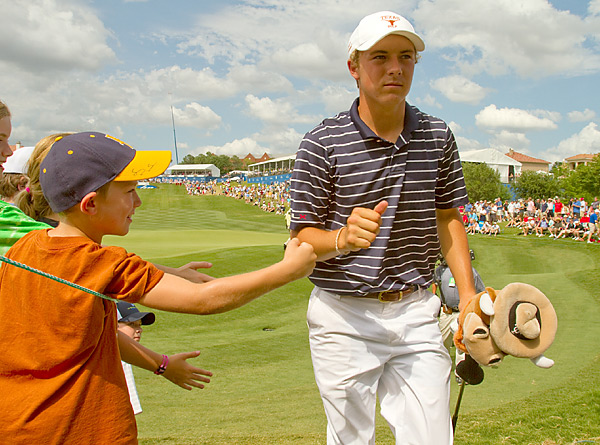 Spieth is a 16-year-old high-school junior, and plans to play golf at the University of Texas rather than turn professional.
