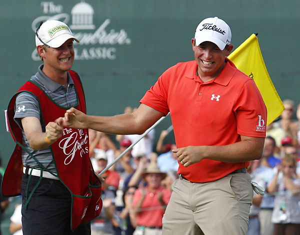 Stallings earned his first PGA Tour victory -- and a trip to the 2012 Masters.
