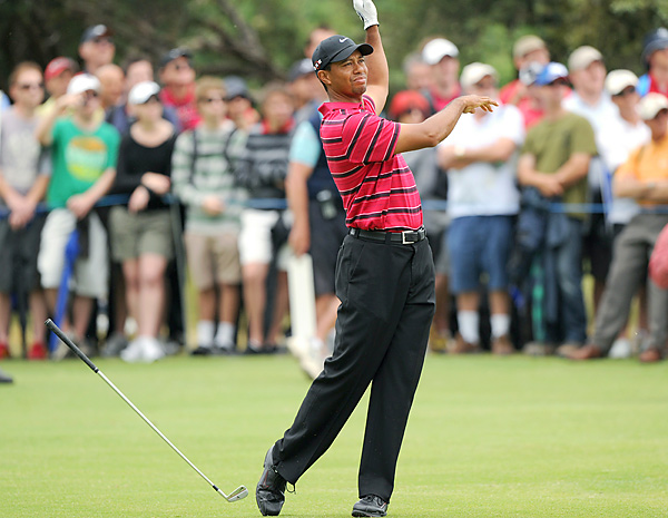 Woods finished a calendar year without a victory for the first time in his career.