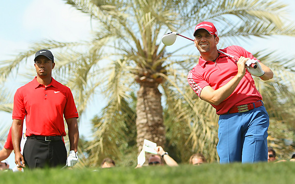 Woods was paired with Sergio Garcia for the final round. Garcia matched Woods with a disappointing 75.