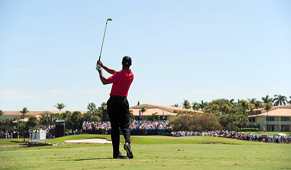 Woods does not have a professional victory since the 2009 Australian Masters.