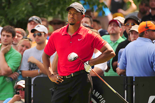 Woods will tee off at 8:35 a.m. on Thursday at the PGA.