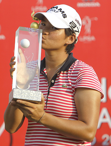 Tseng will go for a fourth straight victory next week in Singapore.