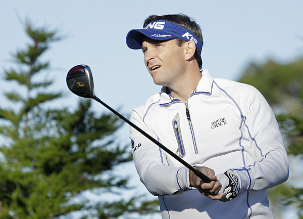 Mark Wilson carded two late bogeys to finish with a two-over 72.