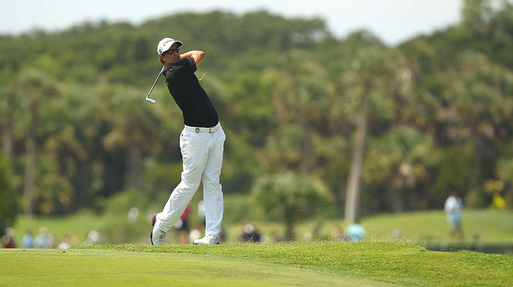 Adam Scott shot a 73 and tied for 11th.