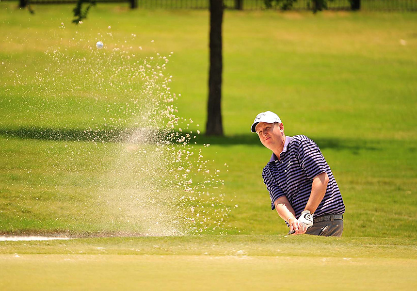 J.J. Henry traveled 45 minutes from his home in Fort Worth to the tournament in Irving. He tied for third.