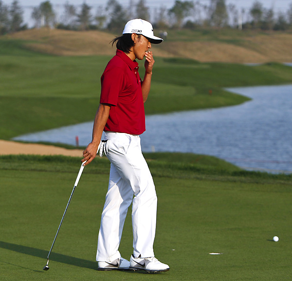 Kim missed a three-footer on the first playoff hole, which allowed McIlroy to sink a two-footer for the win.