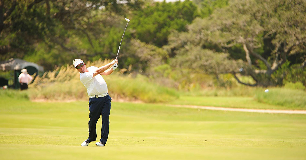 Pettersson tied for third after an even-par 72.