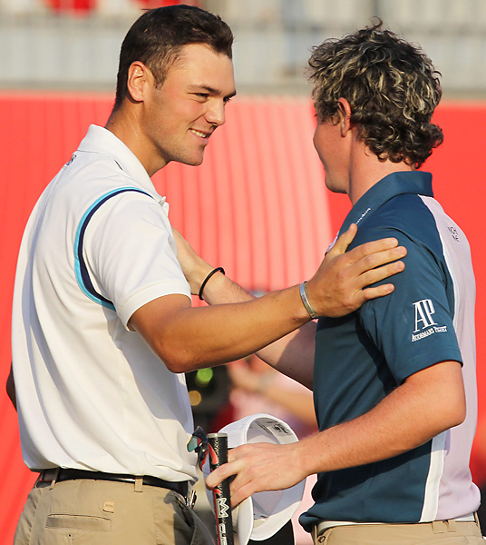 McIlroy opened his season on the European Tour with a chance to win his first event, the Abu Dhabi HSBC Golf Championship. But Martin Kaymer pulled away on Sunday to win by eight as McIlroy finished second.