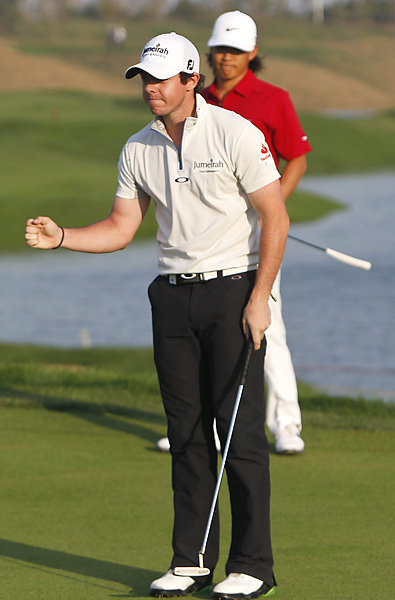 Rory McIlroy beat Anthony Kim with a par on the first hole of sudden death with a two-foot par putt after Kim missed a three-footer.