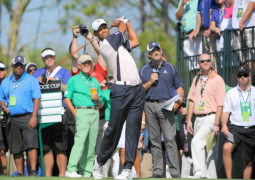 Woods plans to play both the Tavistock and the Arnold Palmer Invitational this week.