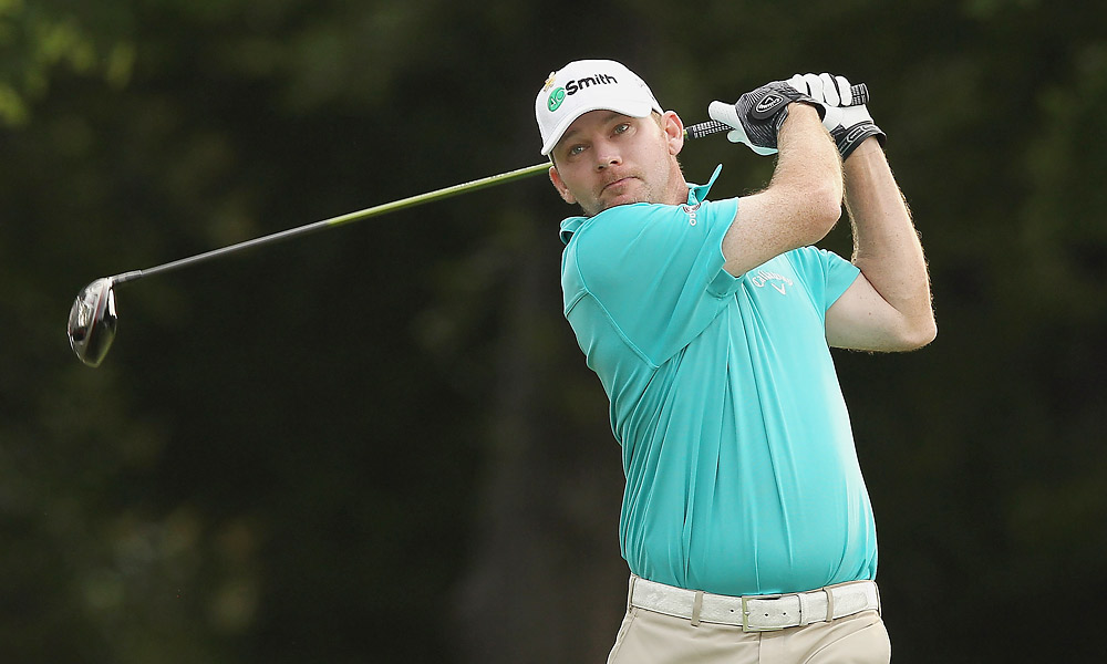 Tommy Gainey was among the players at four under as well.