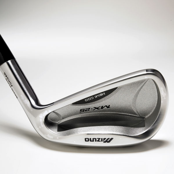 "Mizuno MX-25                       $750, steel; $850, graphite; mizunousa.com                                              We tested: 3-PW in True Temper Dynalite Gold steel shaft                       • Go to Equipment Finder profile                       Company line: ""A deeper, wider and longer CNC-milled pocket cavity delivers a low, deep center of gravity (CG) for high, easy launch with maximum forgiveness. Grain Flow Forged mild carbon steel provides the ultimate soft, solid, consistent feel.""                       Our Test Panel says: Well-rounded sticks; love the ability to vary shots; good synergy between forgiveness and playability; off-center hits don't sting or rattle; very good feel and control with short irons, which leads to confidence and touch around greens; distance not a strength.                       Fine blend of workability, look and feel. — John Moore"