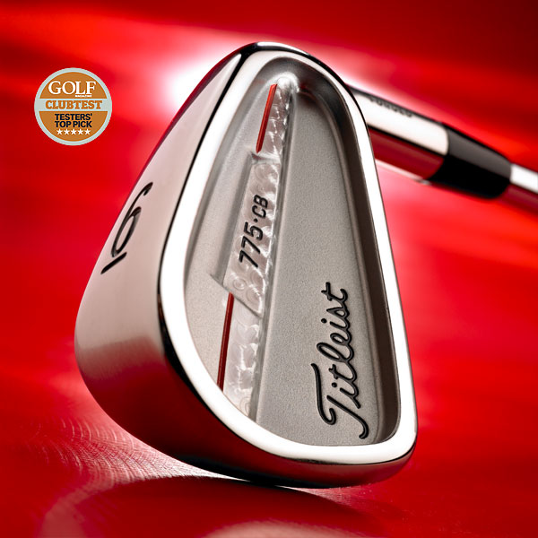 """WINNER: Game Improvement Irons                           Titleist 775.CB                           $799, steel; $899, graphite; titleist.com                                                                                 We tested: 4-W in Nippon N.S. Pro 100 steel shaft                           Company line: """"Traditional short irons designed for shot control and playability. Oversize long irons have enhanced offset for higher, straighter flight. Aluminum bar in 3-, 4- and 5-irons reduces vibration and improves sound and feel.""""                           Our Test Panel says: Love the look, feel and playability; rewards senses on wellstruck shots; clubhead eases through rough with no hang-ups; short irons have blade-like performance with cavity-back forgiveness; hits darts from 130 yards and in; chipping is fun — hit it high, low, soft, hard, runners, spinners; distance and longiron help aren't its forte.                           Excellent combination of skill enhancement, precision and game improvement. — Tom Jennings                                                                                 • Video: ClubTesters on the Titleist 775.CB                           • Read more reviews and tell us what you think                           • ClubTest 2007: Your guide to the finest new clubs"""