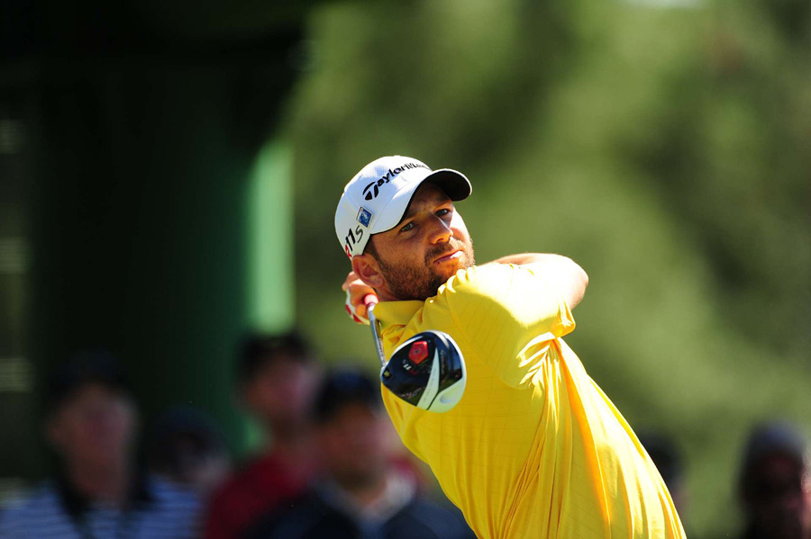 Sergio Garcia made six birdies and two bogeys for a four-under 68.
