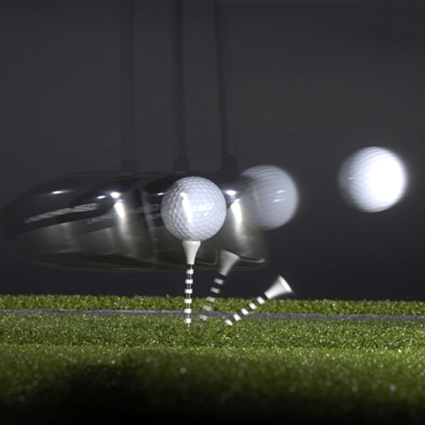 THE NEW TRAJECTORY (2007)                                                      Average ball speed on the PGA Tour: 168 mph                           Average spin rate of a three-piece ball launched at this speed: 2,500 rpm                           Optimal launch angle for these conditions: 13 degrees