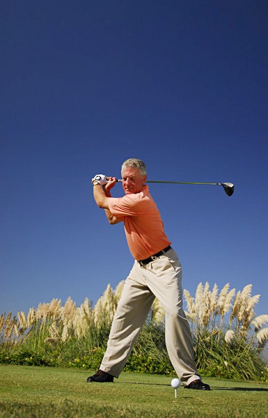 How to give your tee shots a lift                                              Whether your swing speed is 125 mph or 65 mph, you'll drive it longer if you can raise your launch angle and lower your spin rate, says Top 100 Teacher T.J. Tomasi. Here are 7 easy ways to make that happen.                                              1. Move the ball up in your stance, opposite your front foot                       2. Tee the ball high (try a 4-inch tee, the legal limit)                       3. Set up with your back shoulder slightly lower and place more weight on your back foot                        4. Keep your head behind the ball through impact                        5. Flatten your swing plane by swinging the club more around you                        6. Use a more flexible shaft with a lower kick point                        7. Use a deep-faced, big-headed, high-lofted driver