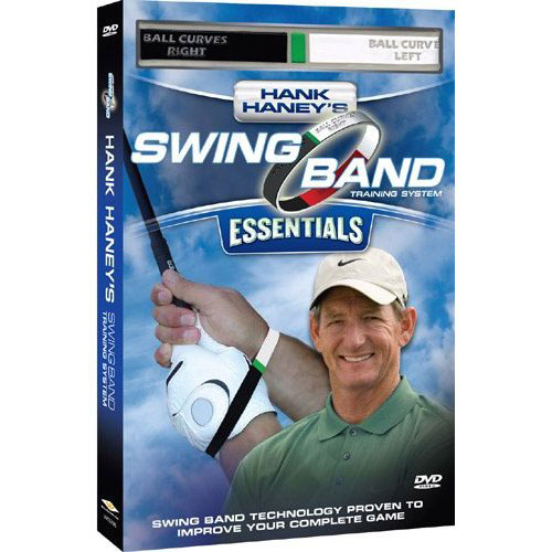 Hank Haney couldn't quite help Sir Charles Barkley with his swing, but he has helped Tiger Woods add to his major win record. In this DVD ($29.98), he'll help you perfect your grip and show you how to place your wrists for maximum power. Also included ise the Swing Band training aid and a pocket guide to take to the course. Learn more on Amazon.com.