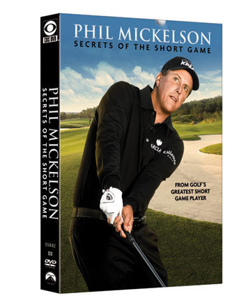 Phil Mickelson has one of the best short games on tour, and he has 38 career victories to back it up. In this almost two-hour DVD ($45.95), he demonstrates putting, chipping and bunker tips to help your game. Also included are a few fun tricky shots, which might be worth the price of the DVD alone. Learn more at philmickelson.com.