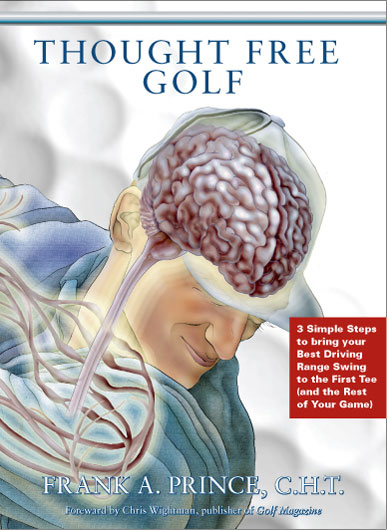 Learn to master the mental side of your game in three easy steps with this CD system ($49.95). Thought Free Golf is a program designed to shut out all distractions when you're on the course. Listening to the CDs repeatedly will train your brain for the next time you're playing. Learn more at thoughtfreegolf.com
